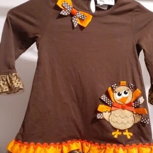 Thanksgiving dress by rare editions sz 5.NWOT